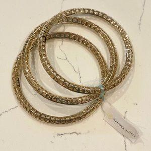 Kendra Scott Bethany Gold Bracelets